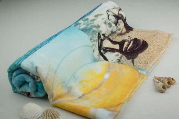 Handdoek met opdruk