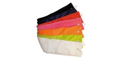 Golfhanddoek borduren