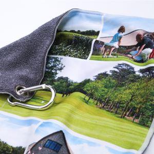Golfhanddoek bedrukken