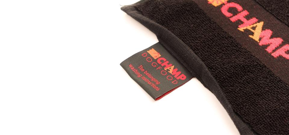 Handdoek met bedrijfslogo