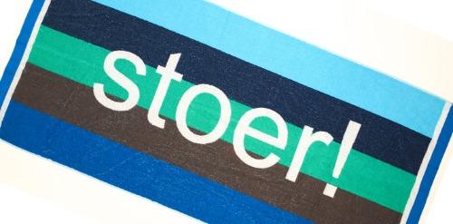Strandlakens met logo inweven